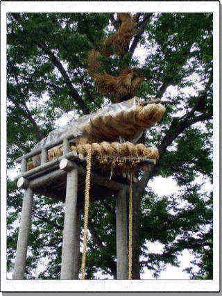 川口市安行原の麦わら大蛇