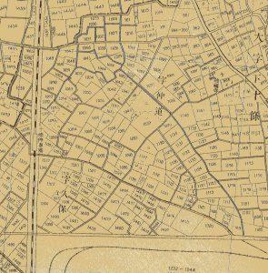 明治末期の下十条周辺地図