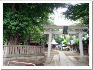 板橋区宮本町の稲荷神社