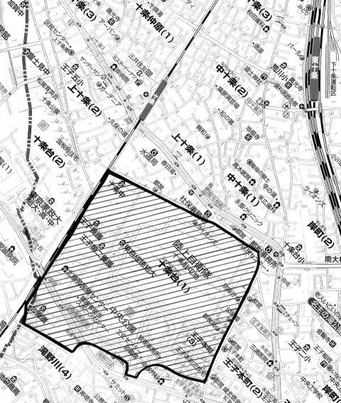 そして、この敷地の中に、かつて「七軒町」と呼ばれた集落がありました。…
