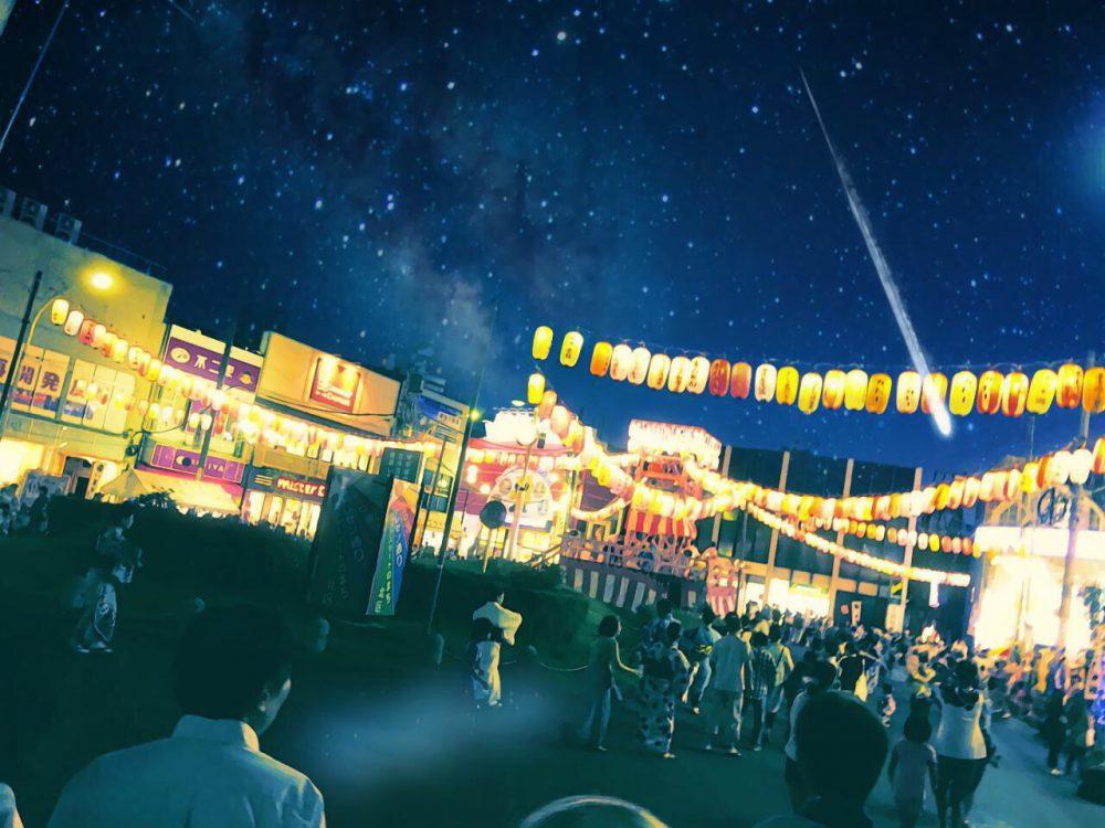 タイトル:夏祭り 百太郎さん