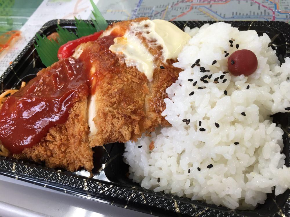タイトル:塩家さんのチキンカツ弁当400円 うっちっちさん(48才)