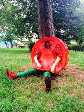 画像トマト人間